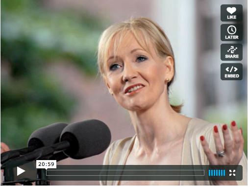 J.K. Rowling - Harvard